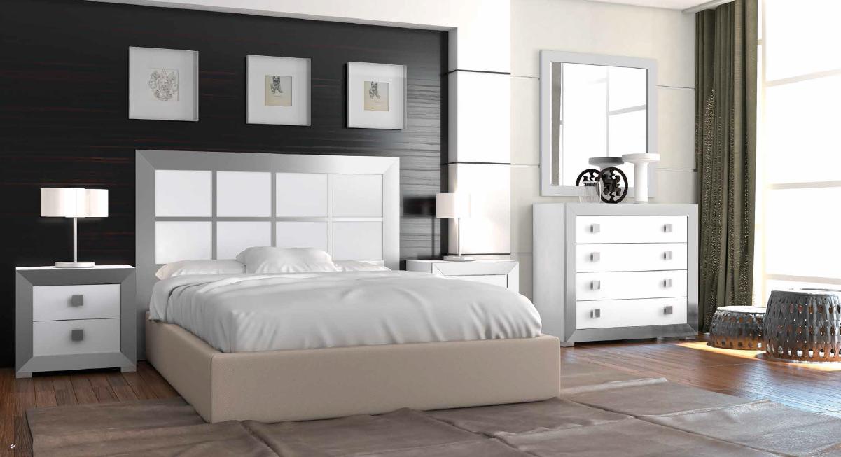Muebles dormitorio blanco y plata 20170725120440 for Muebles blancos dormitorio matrimonio