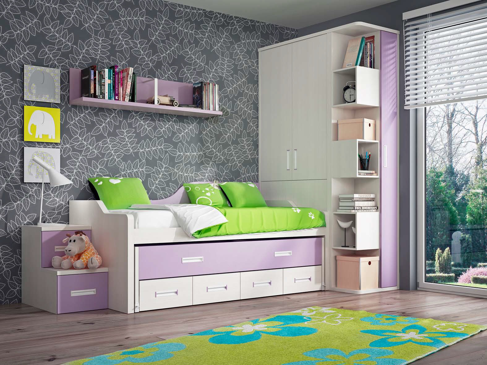 Dormitorios juveniles muebles montanaro for Catalogo de muebles juveniles