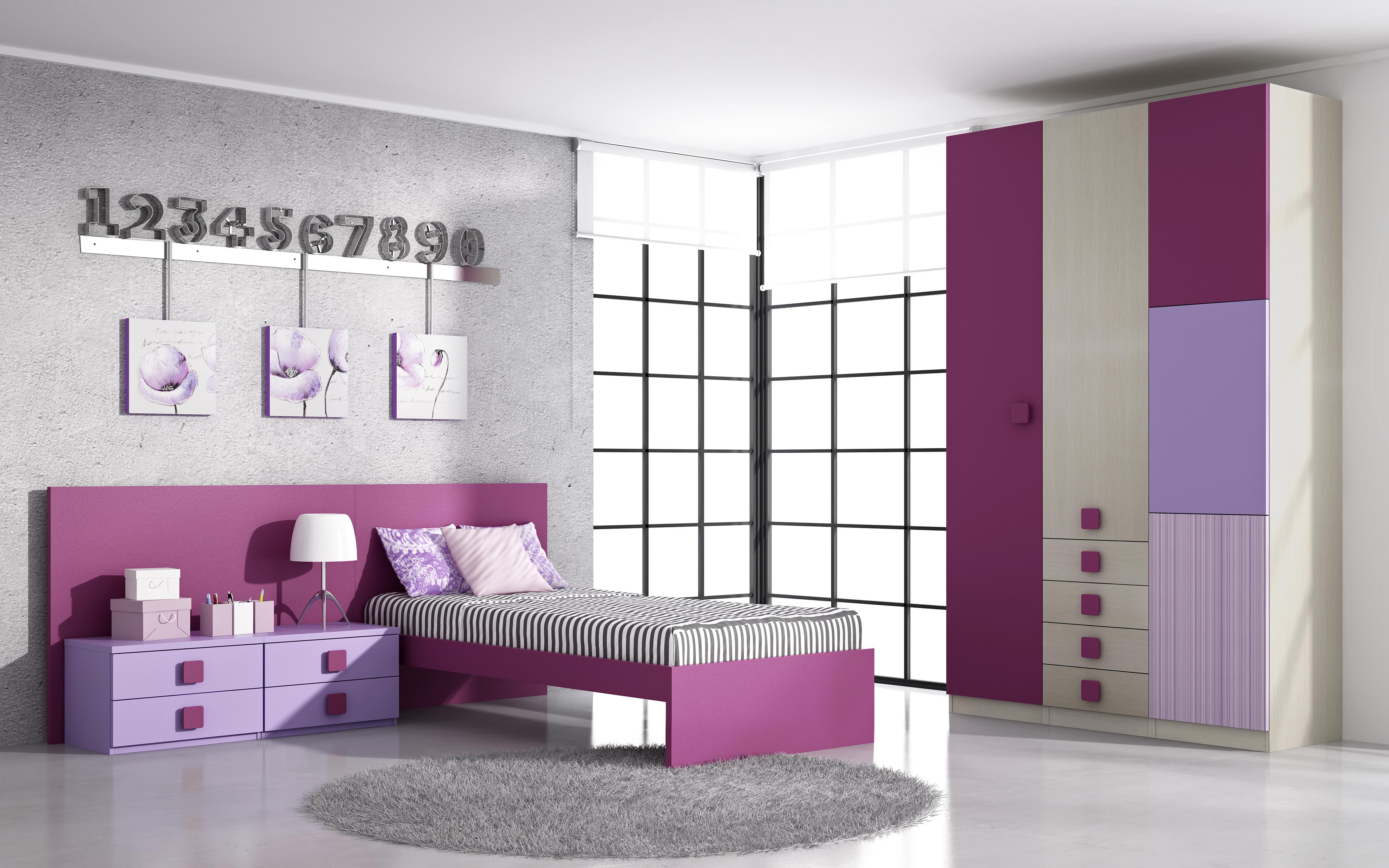 Dormitorios juveniles muebles montanaro - Cama individual juvenil ...