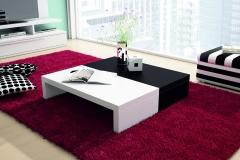 08 mesa cuadrada bicolor